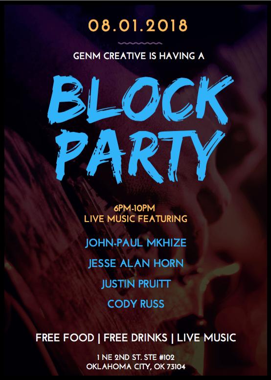 GenM Creative Block Party